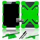 Bumper Silicone Stand Cover Case For Various ARCHOS 70 80 Tablet + Stylus