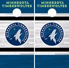 Minnesota Timberwolves Cornhole Skin Wrap NBA Basketball Team Colors Vinyl DR302 on eBay