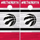 Toronto Raptors Cornhole Skin Wrap NBA Basketball Team Colors Vinyl DR332 on eBay