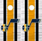 Utah Jazz Cornhole Skin Wrap NBA Basketball Team Colors Vinyl Decal DR336 on eBay