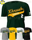 Oakland Athletics A's Khris Davis Jersey Tee Shirt Krush Tail Men Size S-5XL on Ebay