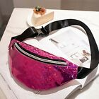 Reversible Mermaid Sequins Glitter Waist Bag Fanny Pack Pouch Hip Purse Satchel