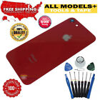 Glass Back Door Cover Camera Lens Cover Replacement + Tape Tool Kit For iPhone 8