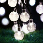 30 LEDS Bulbs String Light Ball Globe Fairy Lamp Festival Party Indoor Outdoor