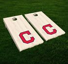 Cleveland Indians Cornhole Decal Vinyl MLB Baseball Car Wall Set of 2 GL35 on Ebay