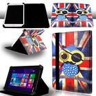 FOLIO LEATHER STAND CASE COVER For Various TOSHIBA Tablet  + Stylus