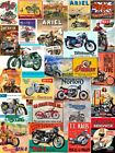 Vintage Retro Motorcycle Wall Sign & Advertisement Metal Wall Sign Plaque V1 NEW $6.49 USD on eBay