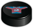 Colorado Avalanche Red Shirt NHL Hockey Puck Bumper Sticker -9'', 12'' or 14'' $11.99 USD on eBay