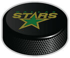 Dallas Stars NHL Logo Hockey Puck Car Bumper Sticker Decal -9'',12''or 14'' $13.99 USD on eBay