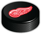 Detroit Red Wings NHL Logo Hockey Puck Car Bumper Sticker Decal  -3'',5'' or 6'' $3.75 USD on eBay