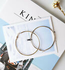 Fashion 3cm-10cm Women Silver/gold Hoop Earrings Jewelry Aussie Girls Gift
