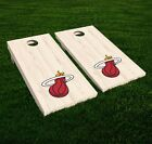 Miami Heat Cornhole Decal Vinyl NBA Basketball Car Wall Set of 2 GL77 on eBay