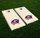 Columbus Blue Jackets Cornhole Decal Vinyl NHL Hockey Car Wall Set of 2 GL92 $19.95 USD on eBay