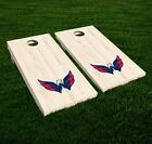 Washington Capitals Cornhole Decal Vinyl NHL Hockey Car Wall Set of 2 GL98 $34.95 USD on eBay