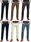 Stallion Herren Chino Stretch Hose Slim Fit Business Casual Anzughose Skinny Fit