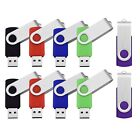 5 Pack/10 Pack 2GB USB2.0 Memory Stick Flash Drive Thumb Drive Fold Data Storage
