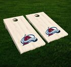 Colorado Avalanche Cornhole Decal Vinyl NHL Hockey Car Wall Set of 2 GL108 $34.95 USD on eBay
