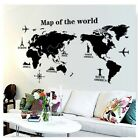 World Map Wall Sticker Art Decal Vinyl Decor Home Bedroom Of