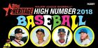 2018 TOPPS HERITAGE HIGH NUMBER SP SINGLES U PICK COMPLETE YOUR SET 701 - 725