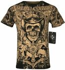 XTREME COUTURE by AFFLICTION Men T-Shirt THE CONJURING Biker MMA UFC S-2X $40 image