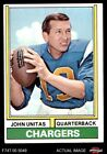 1974 Topps #150 Johnny Unitas Chargers EX $16.0 USD on eBay