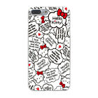 Hello Kitty Cute Sanrio Cafe Hard Cover Case For iPhone Galaxy Huawei Lenovo New