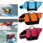 Pet Dog Life Jacket Safety Clothes Life Vest Collar Harness Saver Pet Swimming