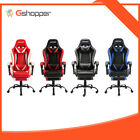 Zenez Gaming Chair Office Computer Racing Pu Leather Executive Footrest