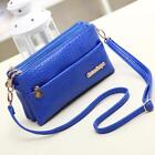 Women's Mini Shoulder Bag Crocodile Pattern Messenger Clutch Cute 5 Colors Gifts