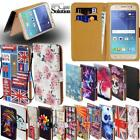 For Samsung Galaxy On5 On6 On7 On8 - Leather Wallet Card Stand Flip Case Cover