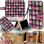 For Various Huawei Ascend SmartPhone - Leather Wallet Card Stand Flip Case Cover