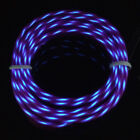 Glow LED Light Chasing El Wire String Rope Car Dance Party with 12V Controller
