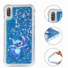 Glitter Disney Liquid Quicksand Soft Cover Case For iPhone Xs Max 5s 6s 7 8 Plus