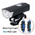 LED Mountain Bike Light USB Rechargeable Blcycle Cycle Front Rear Tail Lamp Set