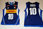 ERREA FIPAV DHL SHIRT AUTHENTIC 10 LANZA ITALY JERSEY ITALY VOLLEYBALL /30