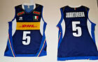 ERREA FIPAV DHL SHIRT AUTHENTIC 5 JUANTORENA ITALY JERSEY ITALY VOLLEYBALL /30