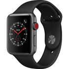 apple watch series 3 38mm 42mm smartwatch with gps cellular sports band