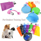 Silicone Dog Water Storage Training Treat Pouch Pet Food Bag Snacks  Wallet
