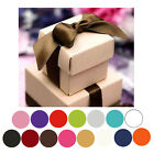 Внешний вид - 100 Boxes 2 pcs Favor Boxes Bridal Shower Party Favor Gift Container Treat Boxes