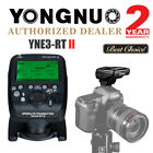 Yongnuo YN968EX-RT Wireless Flash Speedlite YNE3-RT II Transmitter for Canon US