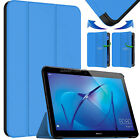 """New Leather Smart Flip Case Stand Cover For Tablet Huawei MediaPad T3 10"""" (2017)"""
