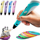 3D Printing Pen 2nd Crafting Doodle Drawing Arts Printer Modeling PLA/ABS NEW