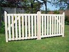 Budget Wooden Driveway Pair of Gates 3ft high.