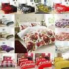 Duvet Cover with Pillow Case Quilt Cover Bedding Set in Single Double King size £15.99 GBP on eBay