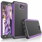 For Samsung Galaxy Halo/J7 Sky Pro/Perx Case Shockproof Hybrid Rubber Cover/Film
