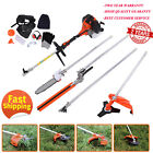 5 In1 Multifunctional 52cc Petrol Hedge Trimmer Chainsaw Brush Cutter Pole Saw