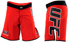 Внешний вид - NEW! UFC Fight Shorts - Red & Black MMA BJJ Boxing Kickboxing Mixed Martial Arts