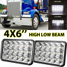 4x6inch 75W Rectangle Led Headlight Hi-Lo Seal Beam for Freightline Kenworth 800