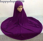 Muslim Nikab Women Burka Overhead Jilbab Long Hijab Abaya Khimar Headscarf Dress