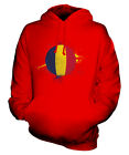 CHAD FOOTBALL UNISEX HOODIE TOP GIFT WORLD CUP SPORT